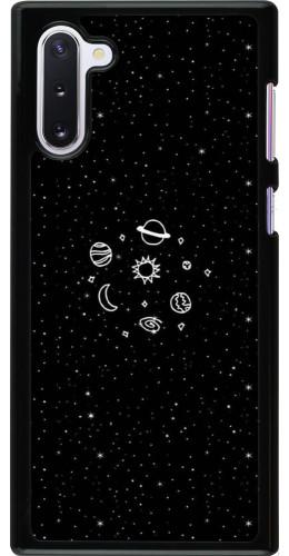 Coque Samsung Galaxy Note 10 - Space Doodle