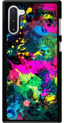 Coque Samsung Galaxy Note 10 - splash paint