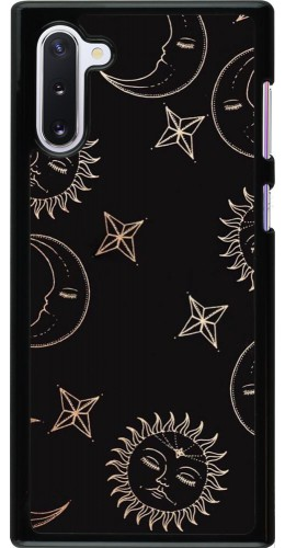 Coque Samsung Galaxy Note 10 - Suns and Moons
