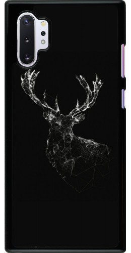Coque Samsung Galaxy Note 10+ - Abstract deer
