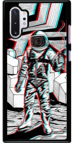 Coque Samsung Galaxy Note 10+ - Anaglyph Astronaut