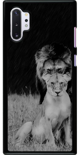 Coque Samsung Galaxy Note 10+ - Angry lions