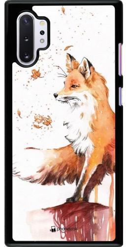 Coque Samsung Galaxy Note 10+ - Autumn 21 Fox