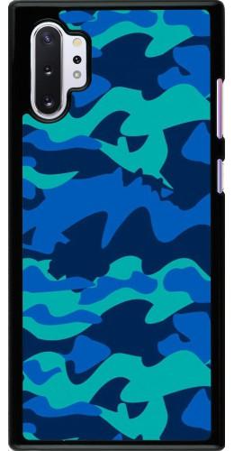 Coque Samsung Galaxy Note 10+ - Camo Blue