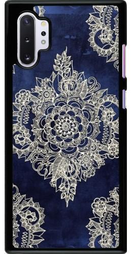 Coque Samsung Galaxy Note 10+ - Cream Flower Moroccan