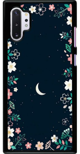 Coque Samsung Galaxy Note 10+ - Flowers space