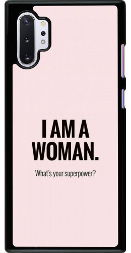 Coque Samsung Galaxy Note 10+ - I am a woman