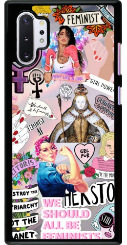 Coque Samsung Galaxy Note 10+ - Girl Power Collage