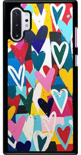 Coque Samsung Galaxy Note 10+ - Joyful Hearts