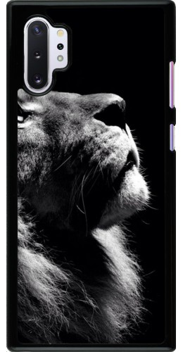 Coque Samsung Galaxy Note 10+ - Lion looking up