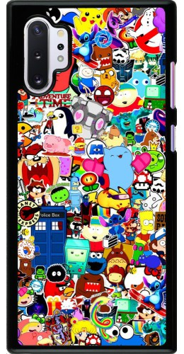 Coque Samsung Galaxy Note 10+ - Mixed cartoons