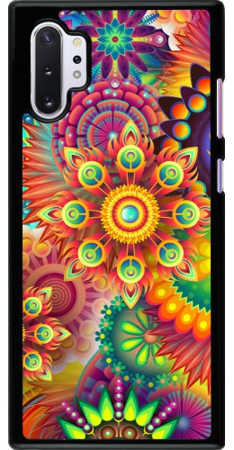 Coque Samsung Galaxy Note 10+ - Multicolor aztec