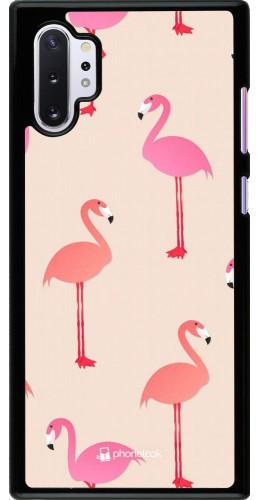 Coque Samsung Galaxy Note 10+ - Pink Flamingos Pattern