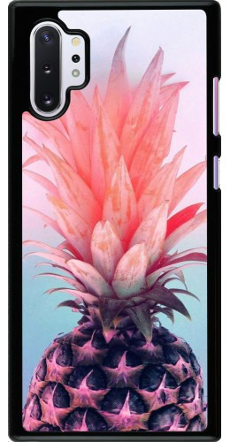 Coque Samsung Galaxy Note 10+ - Purple Pink Pineapple