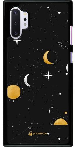 Coque Samsung Galaxy Note 10+ - Space Vector