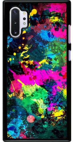 Coque Samsung Galaxy Note 10+ - splash paint