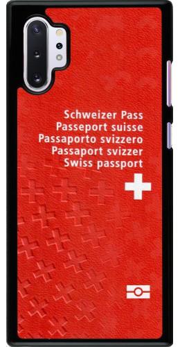 Coque Samsung Galaxy Note 10+ - Swiss Passport