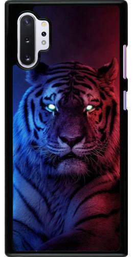 Coque Samsung Galaxy Note 10+ - Tiger Blue Red