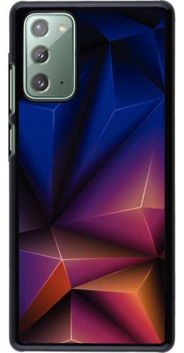 Coque Samsung Galaxy Note 20 - Abstract Triangles