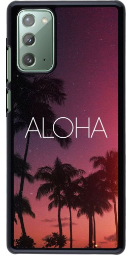 Coque Samsung Galaxy Note 20 - Aloha Sunset Palms