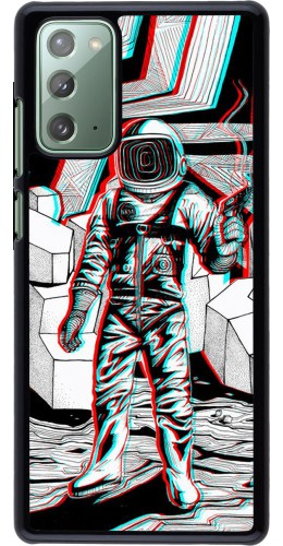 Coque Samsung Galaxy Note 20 - Anaglyph Astronaut