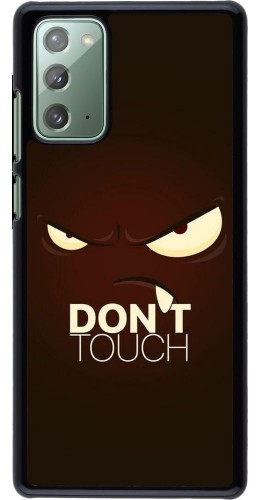 Coque Samsung Galaxy Note 20 - Angry Dont Touch