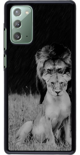 Coque Samsung Galaxy Note 20 - Angry lions