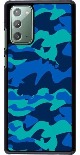 Coque Samsung Galaxy Note 20 - Camo Blue