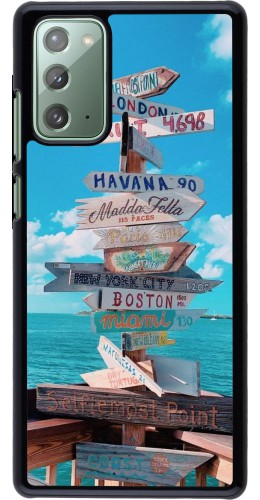 Coque Samsung Galaxy Note 20 - Cool Cities Directions