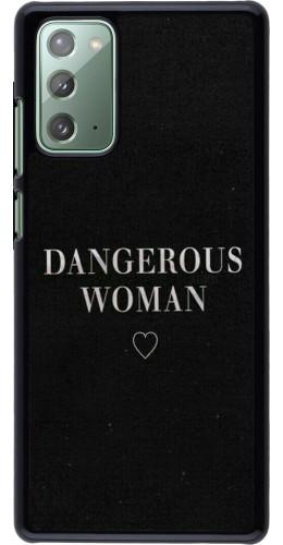 Coque Samsung Galaxy Note 20 - Dangerous woman