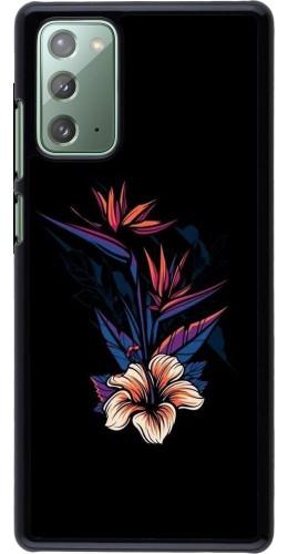 Coque Samsung Galaxy Note 20 - Dark Flowers