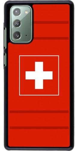 Coque Samsung Galaxy Note 20 - Euro 2020 Switzerland