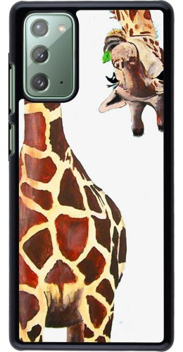 Coque Samsung Galaxy Note 20 - Giraffe Fit