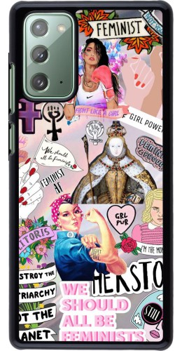 Coque Samsung Galaxy Note 20 - Girl Power Collage