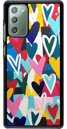 Coque Samsung Galaxy Note 20 - Joyful Hearts