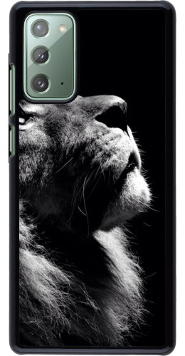 Coque Samsung Galaxy Note 20 - Lion looking up