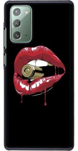 Coque Samsung Galaxy Note 20 - Lips bullet