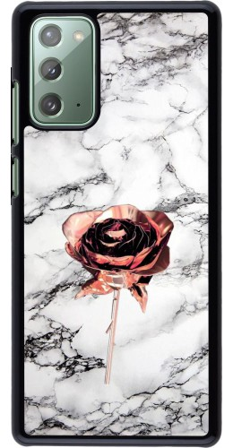 Coque Samsung Galaxy Note 20 - Marble Rose Gold