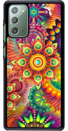 Coque Samsung Galaxy Note 20 - Multicolor aztec