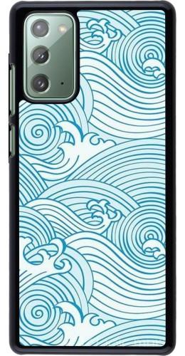 Coque Samsung Galaxy Note 20 - Ocean Waves