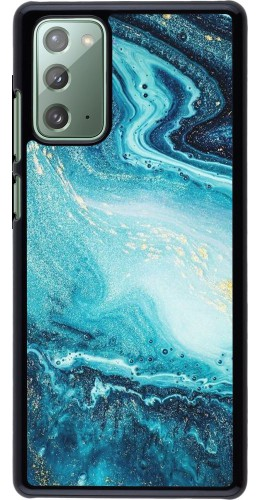 Coque Samsung Galaxy Note 20 - Sea Foam Blue