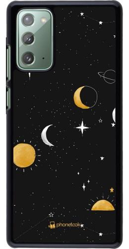 Coque Samsung Galaxy Note 20 - Space Vector