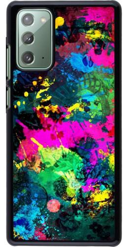 Coque Samsung Galaxy Note 20 - splash paint