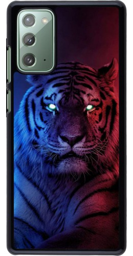 Coque Samsung Galaxy Note 20 - Tiger Blue Red