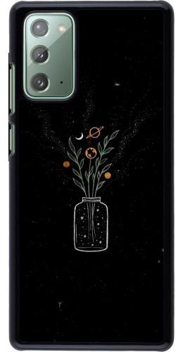 Coque Samsung Galaxy Note 20 - Vase black