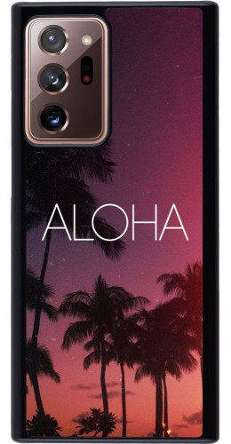 Coque Samsung Galaxy Note 20 Ultra - Aloha Sunset Palms