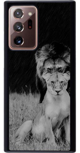 Coque Samsung Galaxy Note 20 Ultra - Angry lions