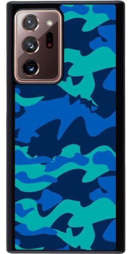 Coque Samsung Galaxy Note 20 Ultra - Camo Blue
