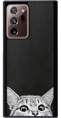 Coque Samsung Galaxy Note 20 Ultra - Cat Looking Up