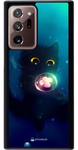 Coque Samsung Galaxy Note 20 Ultra - Cute Cat Bubble